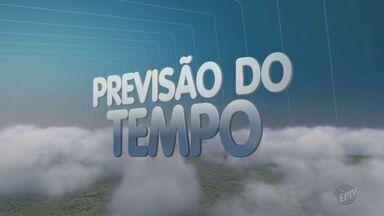 Dia tem temperaturas elevadas e chances de chuva a qualquer momento - Máxima prevista para Campinas (SP) nesta sexta-feira (9) é de 30ºC.