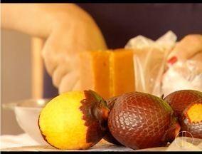 No Norte de Minas, famílias utilizam Buriti como fonte de renda - Fruto pode ser usado para doces e também é no beneficiamento de produtos cosméticos.