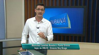 Marechal enfrenta o Ponta Grossa - Esta será a primeira partida da final da Chave Ouro.