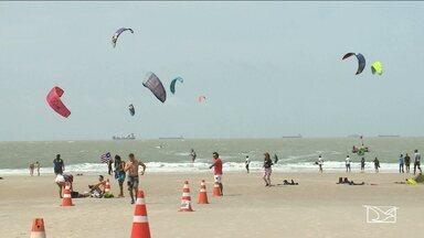 Fim do Maranhense de kitesurf é marcado por grandes disputas - Última etapa da competição trouxe muitas emoções além do mar