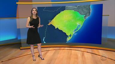 Tempo: chuva deve atingir o RS no sábado (10) - Assista ao vídeo.