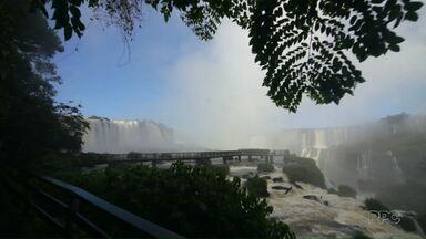 Meu Paraná de amanhã conta a história de Santos Dumont e as Cataratas do Iguaçu - O programa começa ao meio dia, logo depois do É de casa.