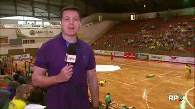 Marechal Rondon e Ponta Grossa se enfrentam pela Chave Ouro do Paranaense - Jogo é em Rondon, no ginásio Ney Braga.