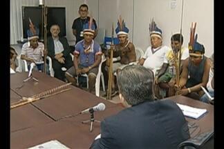 Indígenas se reúnem com a Procuradoria da República, Justiça Federal e Funai - Eles reclamam da qualidade do serviço público nas aldeias do nordeste do Pará