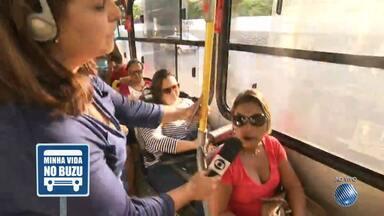'Minha Vida no Buzu': reportagem mostra a rotina nos ônibus da capital baiana - Nesta terça (13) veja os detalhes do transporte que faz a linha que sai da Ribeira.
