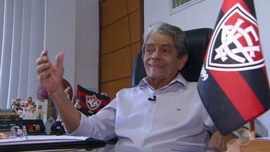 Dirigentes do Vitória planejam como será a próxima temporada do time - Confira as notícias do rubro-negro baiano.