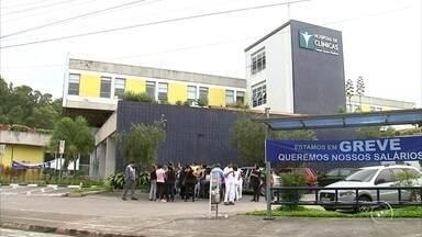 Funcionários de unidades de saúde de Jundiaí e Campo Limpo Paulista estão em greve - Funcionários de unidades de saúde de Jundiaí e Campo Limpo Paulista estão em greve