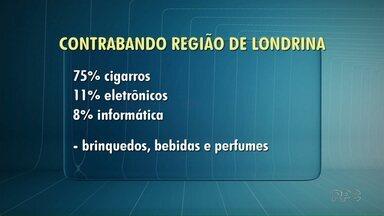 Apreensões de produtos contrabandeados aumenta na região de Londrina - De acordo com a Receita Federal, o volume de apreensões cresceu 25% em comparação com o ano passado.