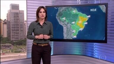 Veja a previsão do tempo para esta quinta-feira (22) em todo o Brasil - Tem previsão de chuva forte em São Paulo, assim como em quase todo o Brasil. É o verão chegando com calor, umidade e temporais.