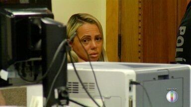 Adriana Ferreira, a 'viúva da Mega-Sena', foi liberada do presídio neste sábado (24) - Assista a seguir.