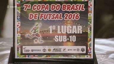 Sub 10 do Clube Internacional de Regatas, de Santos, ganha título nacional - Vermelhinho da Ponta da Praia tem muita tradição no futebol.