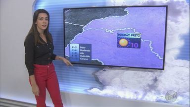 Veja a previsão do tempo para o domingo de natal na região de Ribeirão Preto - Há risco de temporais com queda de granizo em algumas cidades.