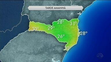 Veja como fica o tempo neste domingo (25) em Santa Catarina - Veja como fica o tempo neste domingo (25) em Santa Catarina