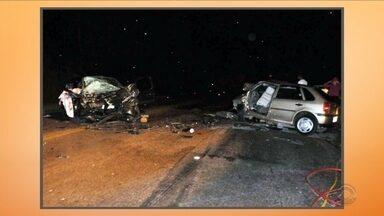 Oito pessoas morrem em acidentes na Serra catarinense - Oito pessoas morrem em acidentes na Serra catarinense