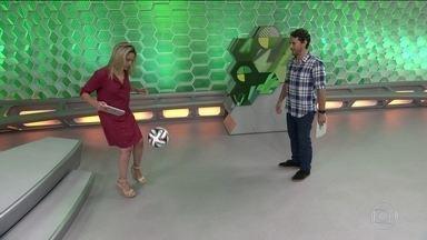 Fernanda Gentil e Flávio Canto fazem embaixadinha no Esporte Espetacular - Fernanda Gentil e Flávio Canto fazem embaixadinha no Esporte Espetacular