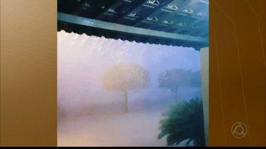 Chuvas provocam alagamentos e desmoronamentos no Sertão da PB, mas população comemora - Bombeiros e Defesa Civil Patos registraram 18 ocorrências durante noite. Defesa Civil estima volume de 95 mm de chuvas.