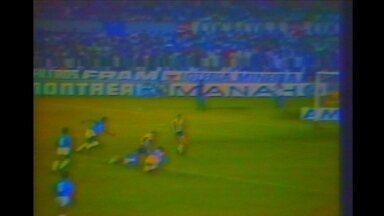 O belo gol de Reinaldo pelo Atlético-MG no clássico com o Cruzeiro em 1984 - O belo gol de Reinaldo pelo Atlético-MG no clássico com o Cruzeiro em 1984