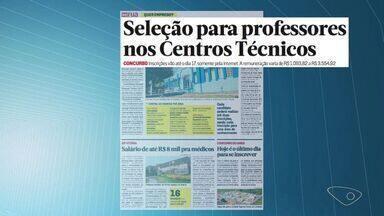 Confira vagas de emprego no Espírito Santo - Vagas foram divulgadas pelo jornal Notícia Agora.