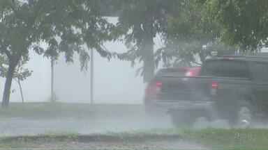 Quarta-feira com pancadas de chuva a qualquer hora do dia nesta quarta - Apesar das instabilidade o dia seguirá abafado.