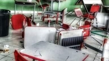 Três escolas municipais de São Joaquim são arrombadas e furtadas - Três escolas municipais de São Joaquim são arrombadas e furtadas