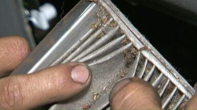 Calor aumenta as vendas e a manutenção de aparelhos de ar condicionado - Pra evitar doenças, manutenção do aparelho deve ser feita regularmente