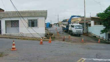 Chuva deixa estragos em bairros de Varginha (MG) - Chuva deixa estragos em bairros de Varginha (MG)