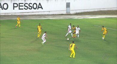 Internacional-PB entra no G-4 com vitória sobre o Paraíba de Cajazeiras - Colorado vence o time sertanejo por 1 a 0 no Tomazão