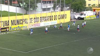 Bahia perde para o Cruzeiro e se despede da Copinha - Jogos da disputa são eliminatórios.