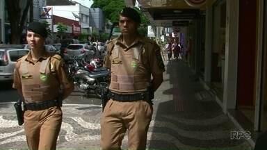 Novos policiais reforçam a segurança de cidades do Noroeste - Ao todo, 158 novos PMs estão atuando em cidades das regiões de Paranavaí, Umuarama e Cianorte