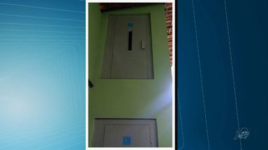 Escola de Fortaleza tem elevador que leva a lugar nenhum - Equipamento custou R$ 50 mil.