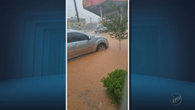 Chuva causa transtornos para moradores em Camanducaia - Chuva causa transtornos para moradores em Camanducaia