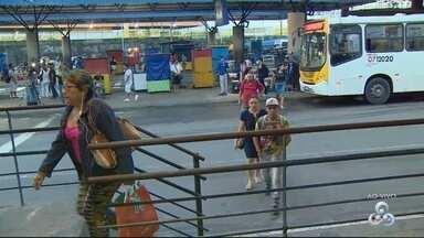 Ônibus operam normalmente nesta quinta-feira (18), em Manaus - Greve na terça-feira (17) paralisou linhas por mais de 12 horas.