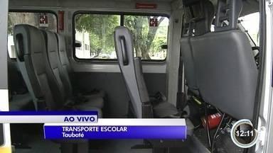 Pais têm preocupação com o transporte escolar dos filhos - Veja orientações na hora de contratar as vans.