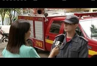 Corpo de Bombeiros fala dos cuidados em dias de chuva - Em Valadares, um homem morreu eletrocutado enquanto chovia.
