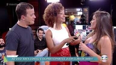Gshow promove debates ao vivo sobre o BBB 17 - Rafael Cortez e ex-BBBs vão passar a tarde comentando a divulgação dos candidatos desta temporada