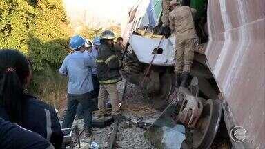 Polícia e CMTP investigam causas do acidente com metrô de Teresina - Polícia e CMTP investigam causas do acidente com metrô de Teresina