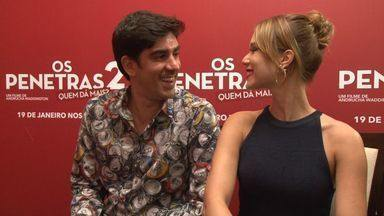 Marcelo Adnet revela que família é capixaba - Durante entrevista, ator revela ter raízes em Guarapari