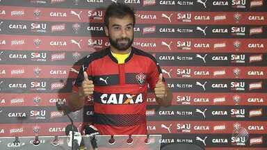 Vitória segue apresentando novos reforços - O meia Gabriel Xavier é o mais recém contratado do rubro-negro.
