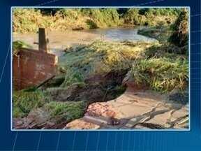 Adamantina decreta estado de emergência após chuvas - Volume de água prejudicou pontes e bairros da zona rural.
