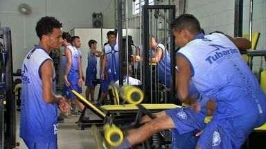 Dom Bosco realiza trabalho físico na academia - Dom Bosco realiza trabalho físico na academia