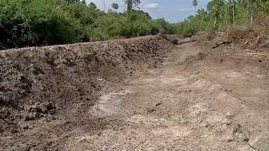 Policia Militar Ambiental multa fazendeiro por construir aterro ilegal no Pantanal - Segundo policiais, ele não possuía autorização do órgão ambiental e obra traz prejuízos ao meio ambiente.