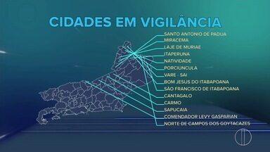 Governo do Estado do Rio diz que vigilância contra febre amerala aumentou em 14 municípios - Assista a seguir.