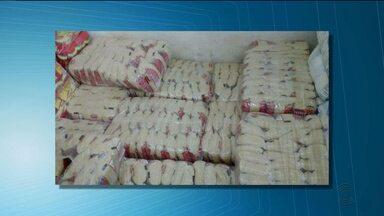Homens são presos por comercializar arroz roubado em Campina Grande - A carga tinha sido roubada no mês passado.