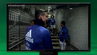 Na Rede: CR7 imita Felipão e cita o Grêmio em conversa com brasileiros - Atacante do Real Madrid imitou sotaque do treinador gaúcho.