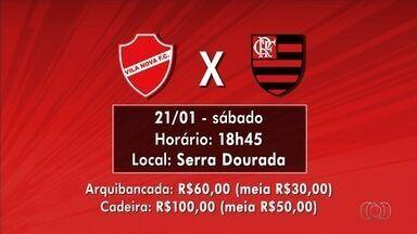 Veja detalhes da venda de ingressos para Vila Nova x Flamengo - Bilhetes para o amistoso custam R$ 60 e R$ 100