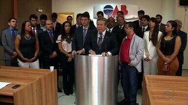 OAB Sergipe pede interdição de presídio de São Cristóvão - OAB Sergipe pede interdição de presídio de São Cristóvão.