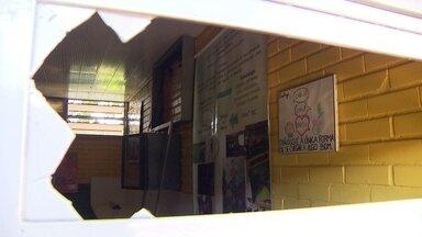 Escola pública é invadida 5 vezes por ladrões em apenas duas semanas - Pais, alunos e educadores estão preocupados com os roubos.