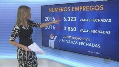 Ministério do Trabalho divulga balanço de empregos em Ribeirão Preto durante 2016 - Situação na cidade melhorou, mas números ainda são negativos.