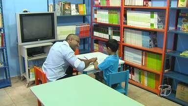 Casa Azul de acompanhamento do autismo é inaugurada em Santarém - Espaço funcionará no antigo prédio da Escola Estadual Olindo Neves.