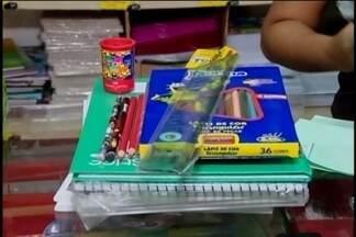 Papelarias registram aumento na procura por materiais escolares em Divinópolis - Período de volta às aulas aquece economia do mercado.
